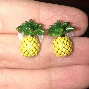 Kate Spade Pineapple Earrings 🍍